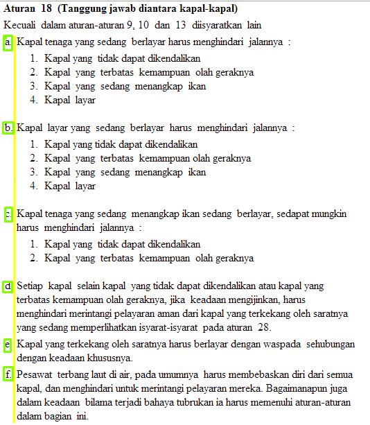 aturan 18