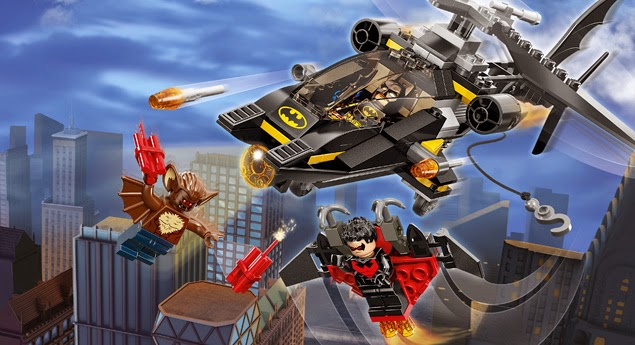 Lego Batman Man-Bat Attack 76011