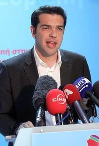 Alexis Tsipras; Syriza; Partido de Esquerda; Grécia; Esquerda
