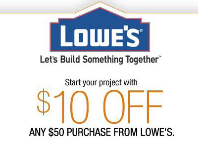 Lowe's Coupons April 2013 - Printable Coupon Codes