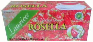Teh Rosella Merah Laurico