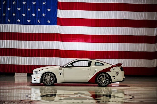 2014+Ford+Mustang+GT+U.S.+Air+Force+Thunderbirds+Edition+5 Chevrolet Silverado Black Ops and Volunteer Firefighter Concepts