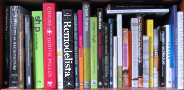 Remodelista Book on Bookshelf
