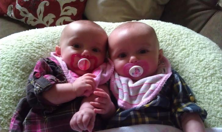 My sweet little ladies!