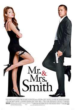 Mr. & Mrs. Smith 2005 Hindi Dubbed 300MB BluRay 480p