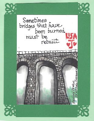 Burned bridges quote