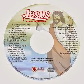 CD Jesus Mais que um super herói