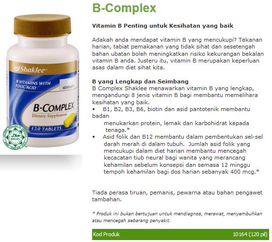 b Complex Sangat Penting Untuk
