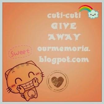 Cuti-cuti Give Away Fiza