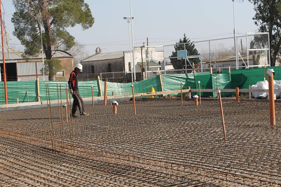 La vidriera de leones leones avanza la construcci n del for Jardin maternal unlp 2015