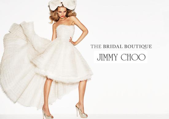 Jimmy Choo lance sa boutique dédiée au mariage