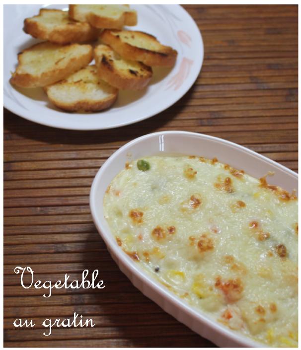 Jaya's recipes: Vegetable au gratin