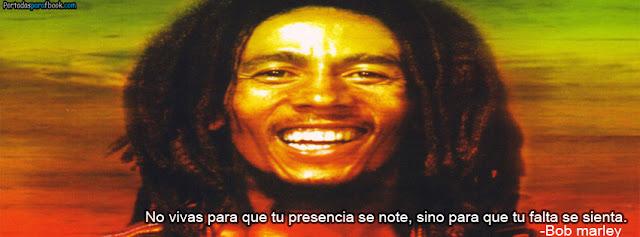 Bob Marley sonriendo