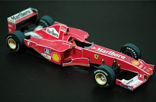 Car - Ferrari F1 2000 Papercraft-1