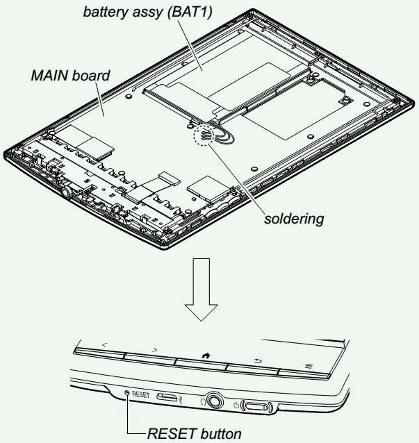 wiring schematic diagram  sony prs t1 digital book reader