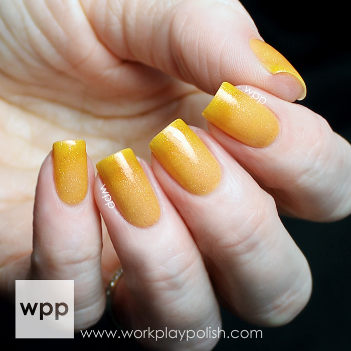 Polished by KPT Let's Get Peachy from the March into Spring Collection (2014)
