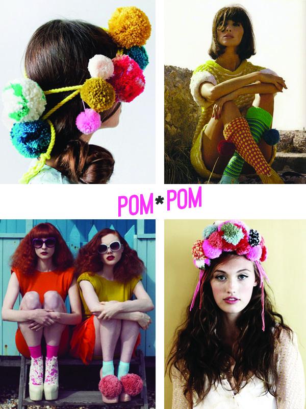 Trending: pom pom fashion