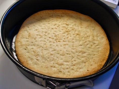 Base para tarta precocida