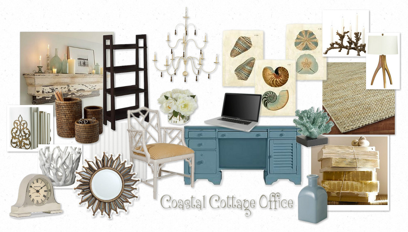 FOCAL POINT :::: Coastal Cottage Moodboard Challenge Wrap-