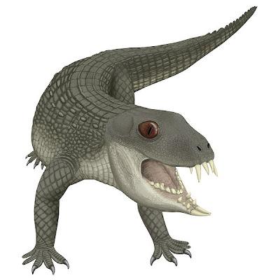 reptiles prehistoricos de Bolivia Yacarerani