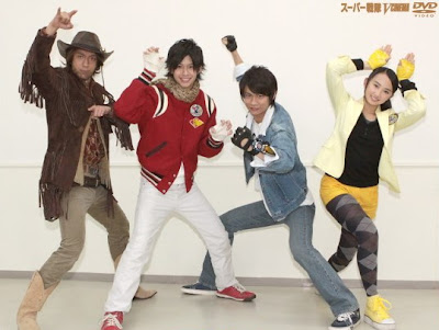 "Go-Busters V-cinema, ""Tokumei Sentai Go-Busters VS Dobutsu Sentai Go-Busters"". Gb-vcinema3a"