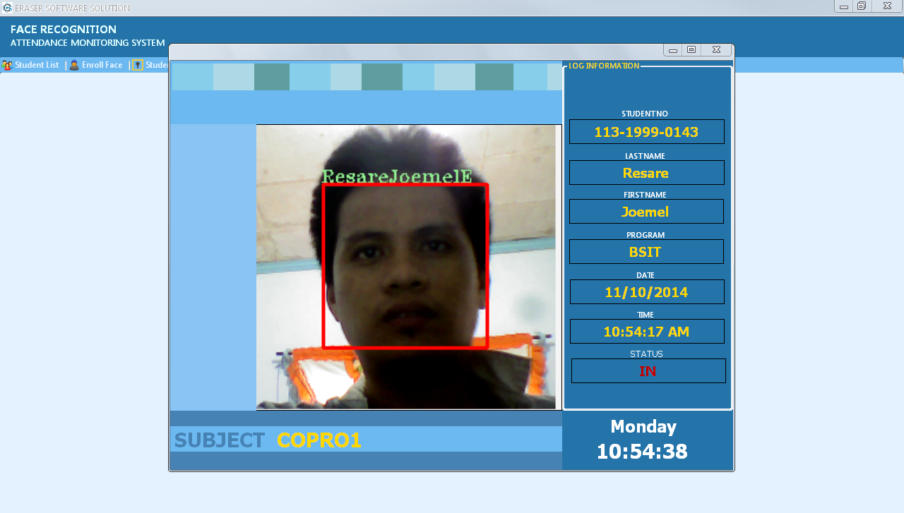 Face recognition dating site