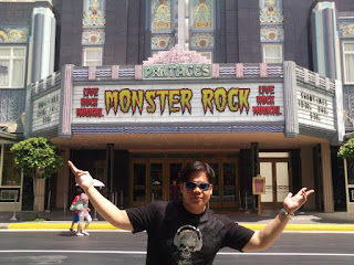 Universal Studios Singapore Monster Rock