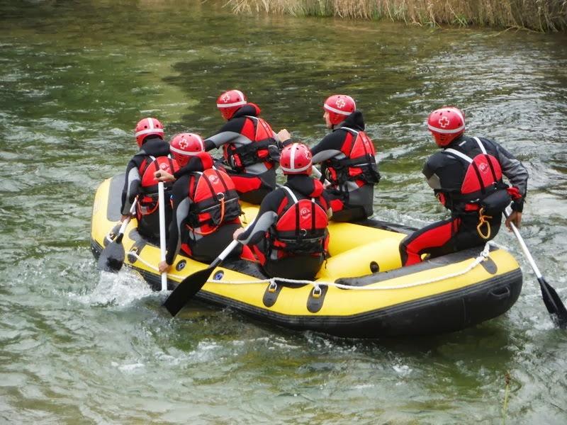 Primera Balsa de Raft 2013