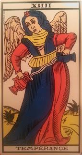 La Templanza. Carta del Tarot