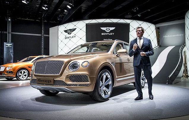 2018 Bentley Bentayga Review and specification