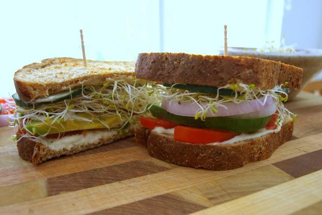 THE SIMPLE VEGANISTA: Favorite Summer Sandwich