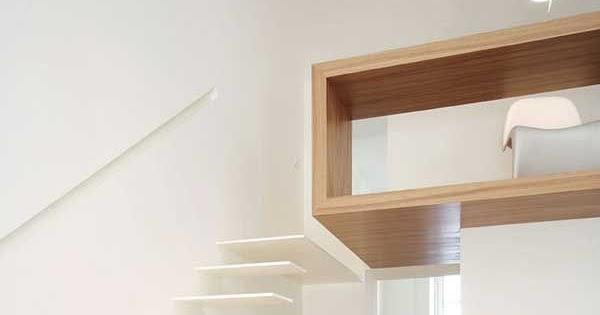 Binnenkant : minimalistisch interieur