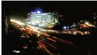 with there being no electricity, streetlights were not lit and the roads were dark near madhilapalem in visakhapatnman