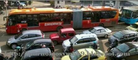 Ada Penutupan Beberapa Koridor Busway Besok