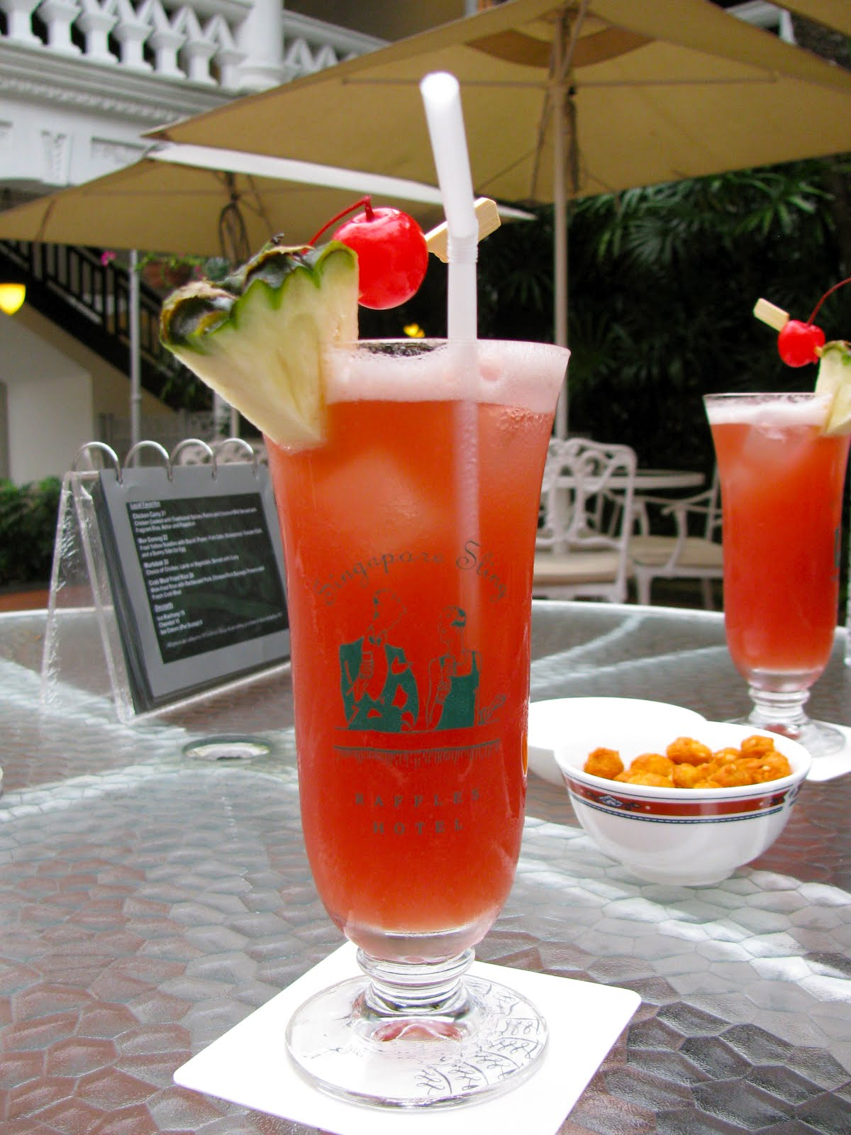 The Joy of Eating: The Singapore Sling
