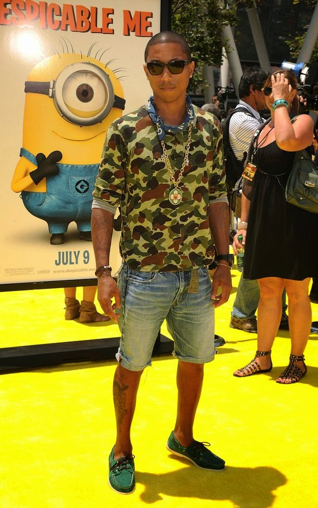 Pharrell Williams Style Fashion