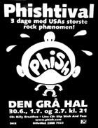 Phish Copenhagen 1998 poster