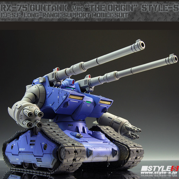 Guntank Gundam The Origin Style