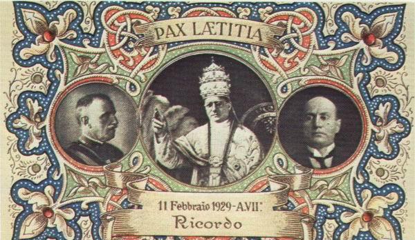 The Italian Monarchist The Lateran Treaty 83 Years