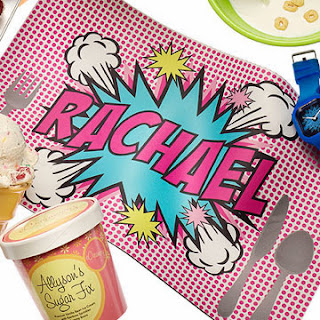Pop Art Placemat in Rachael Ray