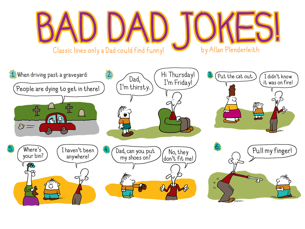 Funny Bad Dad Jokes