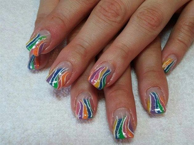 Nail Art Designs Acrylic Paint Hession Hairdressing