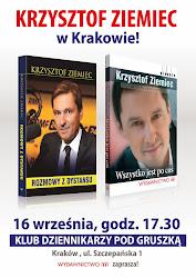 Spotkanie z Krzysztofem Ziemcem