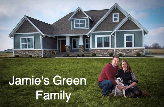 Jamie's Green Family