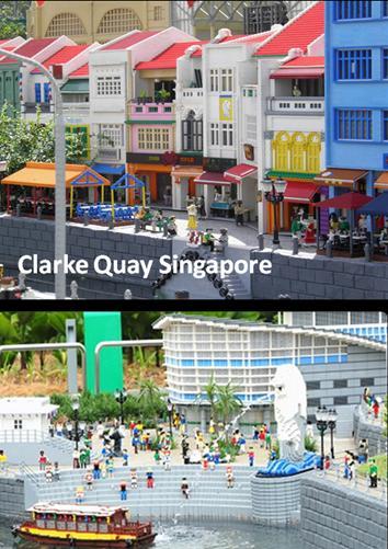 Lego Land Malaysia - mini Singapore