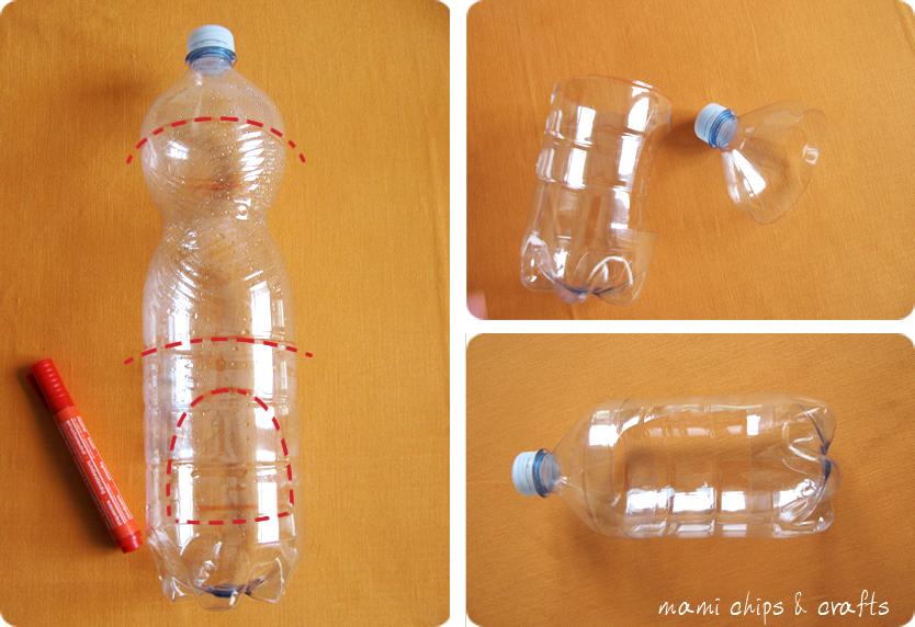 Favorito mami chips & crafts: Casetta per gli uccellini da bottiglia di  QV14