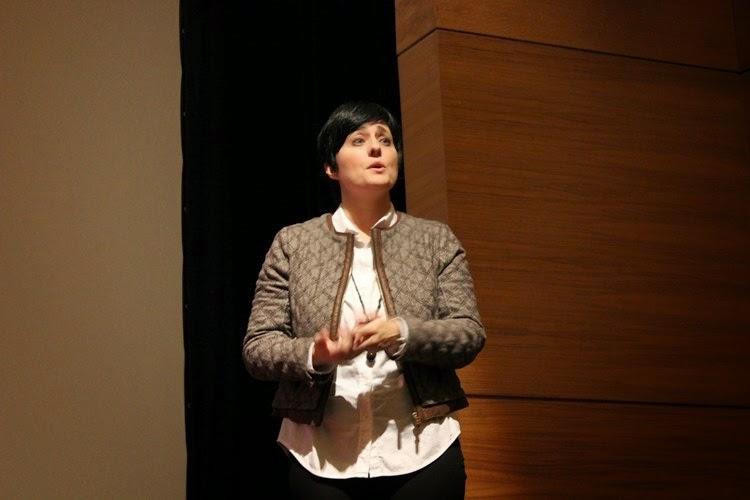 Conferencia de la psicóloga clínica Amaya Sánchez Lago