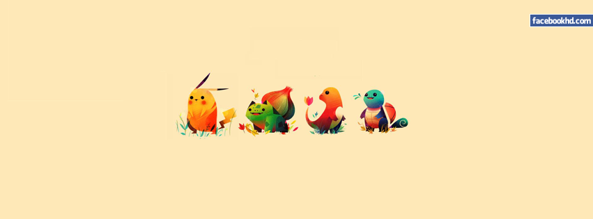 Pokemons HD Facebook Cover Image