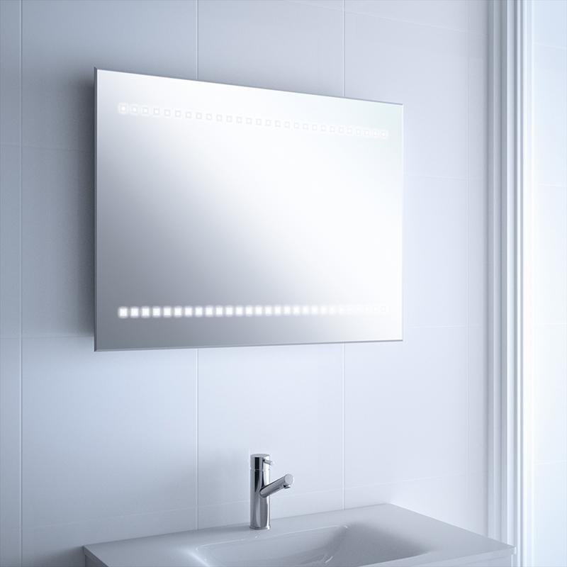 Espejo maquillaje en ba o con luz led paris reformas guaita - Espejos de bano con luz ...