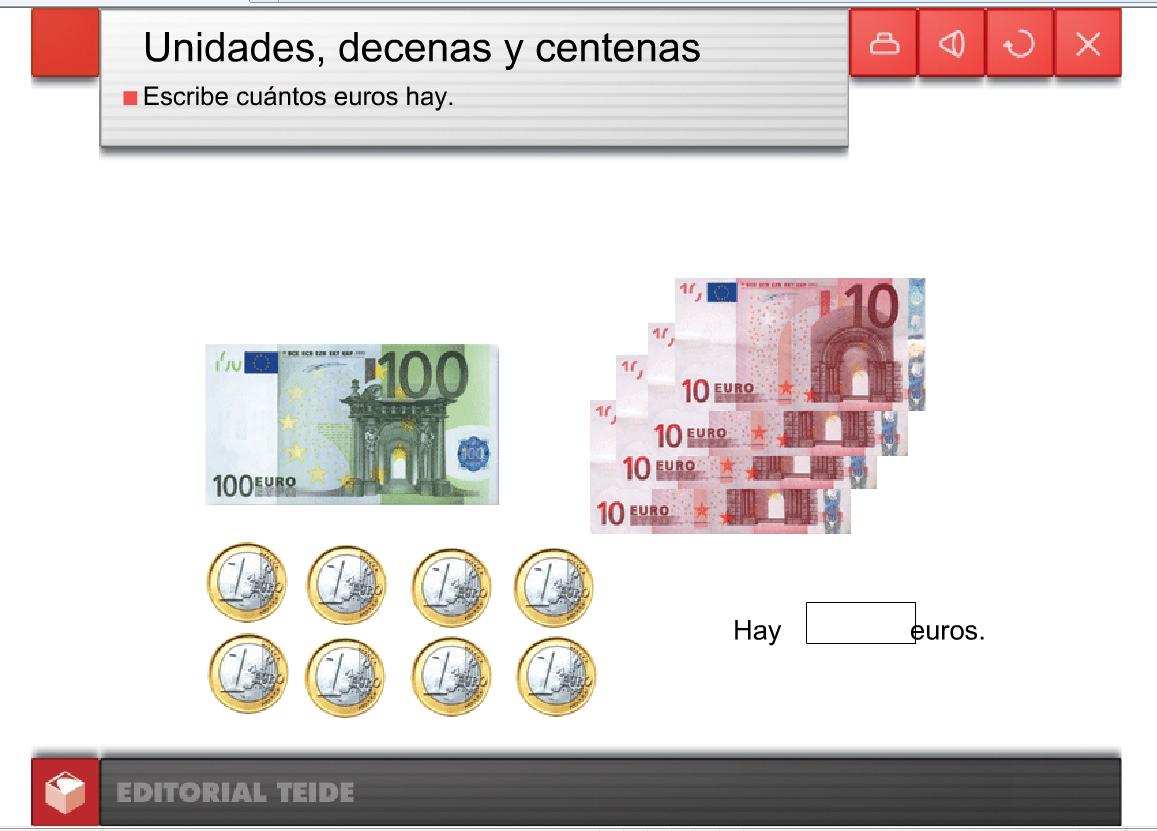 La mina 3 de primaria cu ntos euros hay for Cuantos codones existen